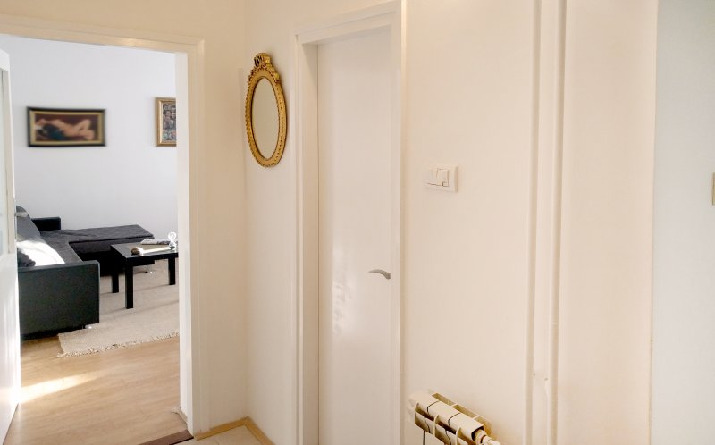 Corridor, look from the entrance to the apartment