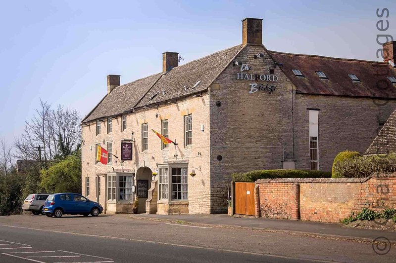 The lovely local pub is a former coaching inn dating back to 1567