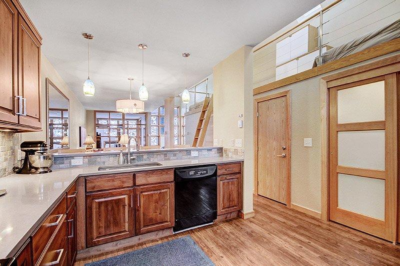 Horno, Interior, cocina, salón, Hardwood