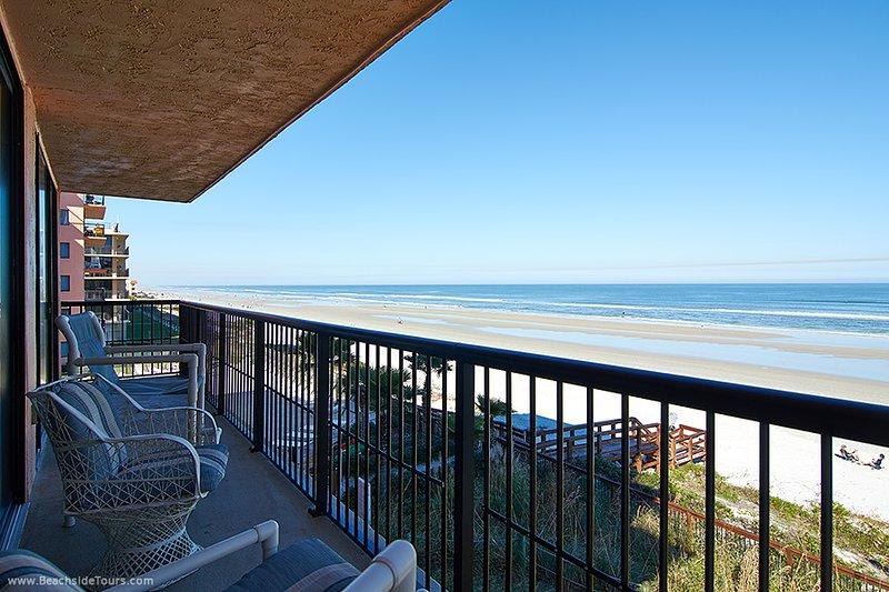 Vacker havsutsikt från din egen balkong