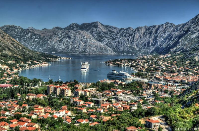 Kotor on the palm