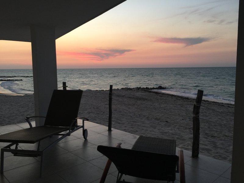 Vacaciones en playa Chelem, casa vacanza a Chelem