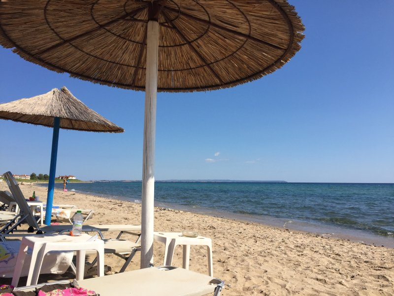Flogita Beach Apartments, location de vacances à Nea Triglia