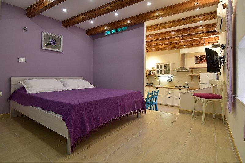 Camera da letto al piano superiore