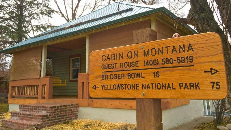En la cabina de Montana
