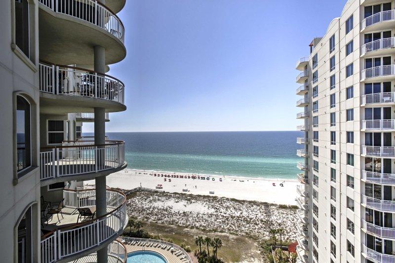 Spectacular ocean views await at this 13th floor vacation rental condo!