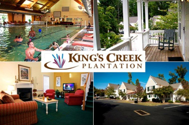 Kings Creek Plantation Resort 2 Bedroom Cottage Week 27