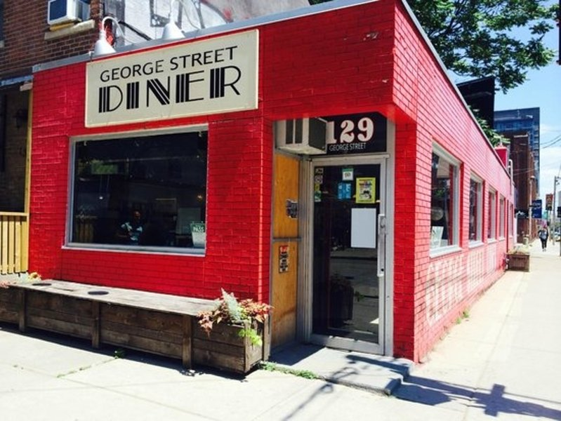 The famous George Street Diner, just a few doors down.