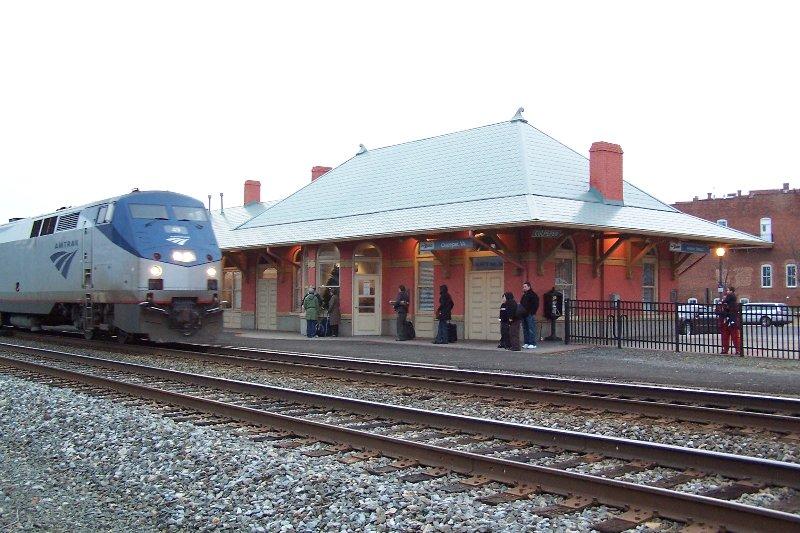 La gare Culpeper Amtrak est à seulement 0,6 mile de West Park Gardens.