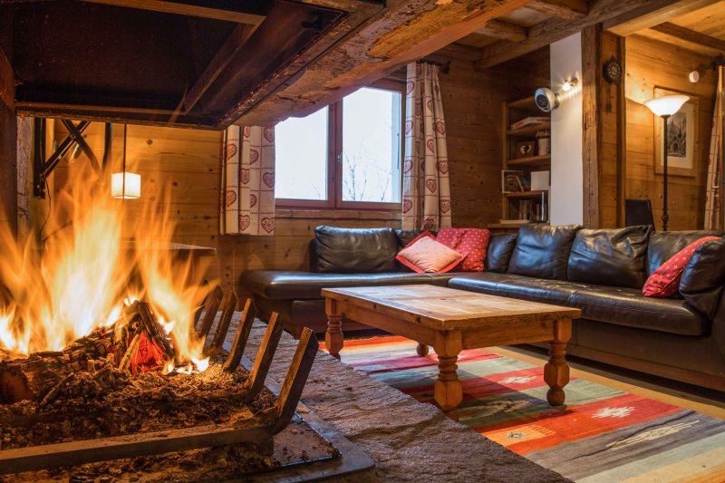 Cosy Lounge area with Log Fire