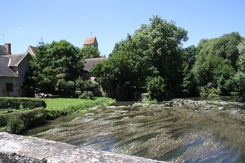 La belle rivière Vègre qui traverse notre joli village