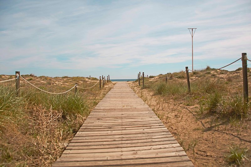 Playa Canet. Canet Beach.