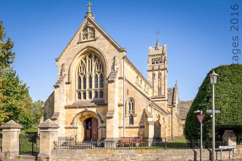 The beautiful St James' Church
