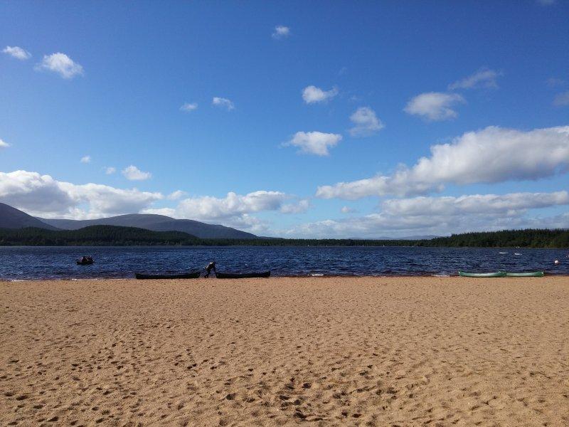 Nearby Loch Morlich