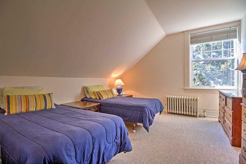 Dieses Zimmer verfügt über 2 Twin-Size-Betten.