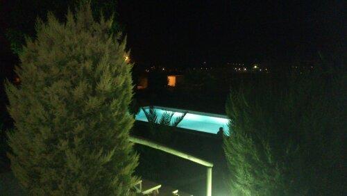 Cabaña de madera con piscina, barbacoa ,horno moruno en plena naturaleza, casa vacanza a Fortuna