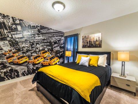 Art,Bed,Bedroom,Furniture,Indoors