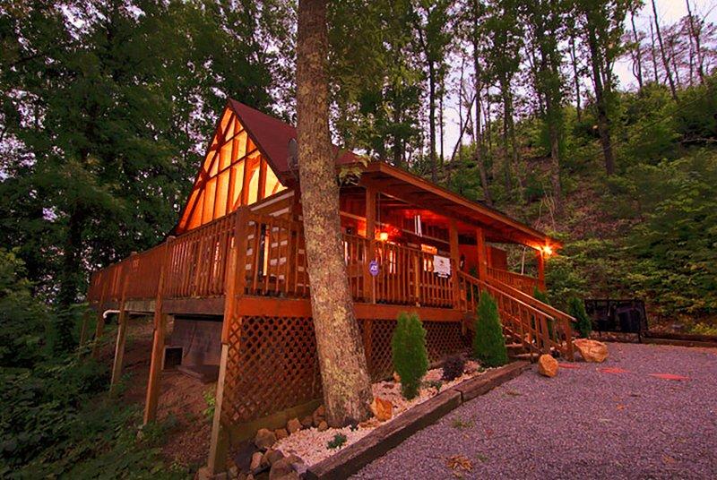 Edificio, cabaña, refugio, Cottage, Caseta