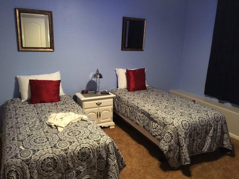 Beide andere extra kamers hebben 2 tweeling te scheiden of samen als koningen gebruiken