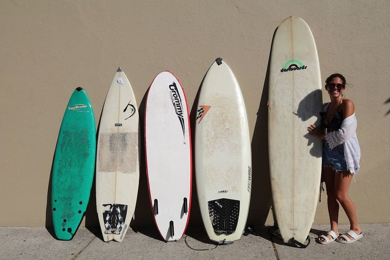 Surfboards to enjoy