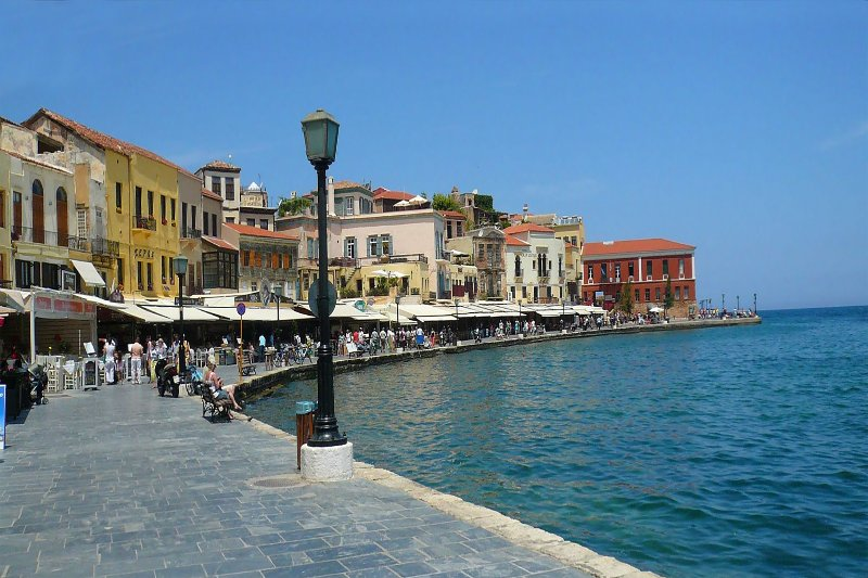 The old port of Chania