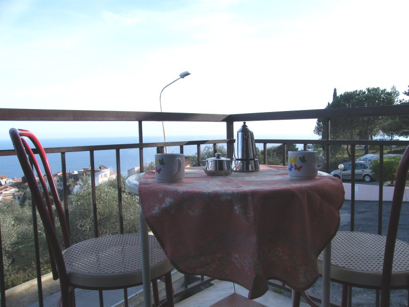 Nice apt with pool access & terrace, holiday rental in Cipressa