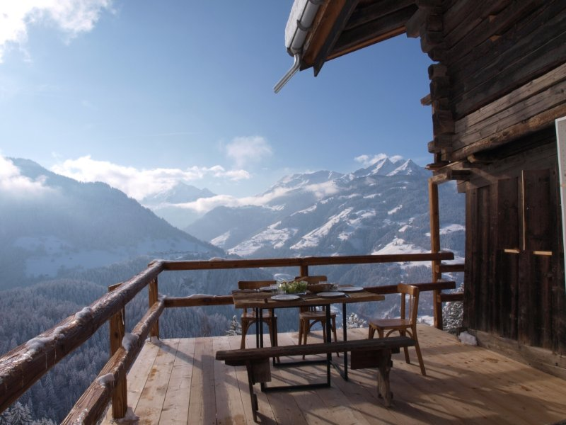 Big chalet with terrace & balcony, holiday rental in Beaufort