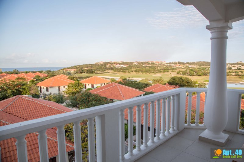 Terrace with panoramic views of the Caribbean sea