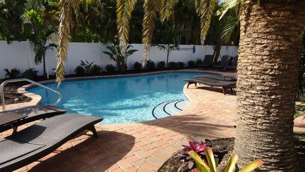 Hotel, Resort, Piscina, Água, Jacuzzi