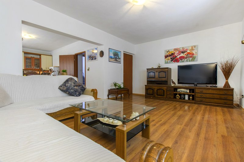 *BEST BUY* A1- Spacious apartment with balcony and sea view, vacation rental in Kastel Gomilica