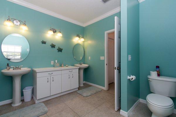 Toilet, Light Fixture, Bathroom, Indoors, Mirror