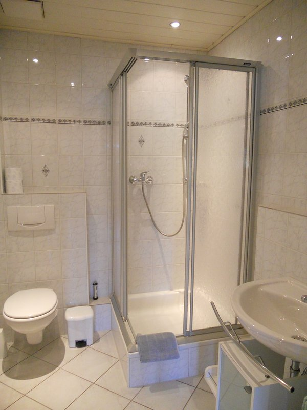 Bathroom with shower / WC