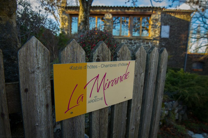 WELCOME      Enjoy your stay at          La  MIRANDE