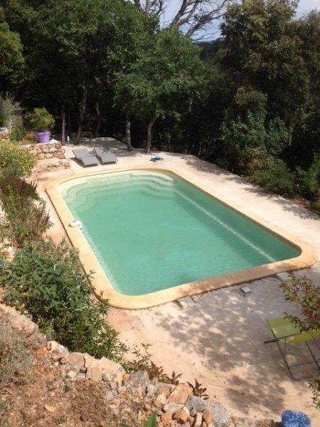 grande piscine privée 8.40x4.20