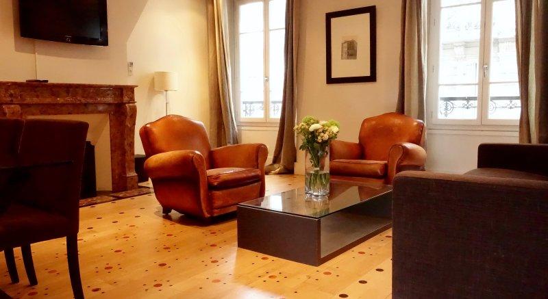 Upscale apartamento de 3 quartos grande no coração do Marais