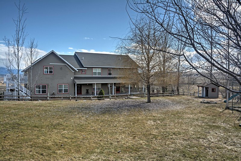 Experience all that Flathead Valley has to offer from this 5-bed, 4-bath home!