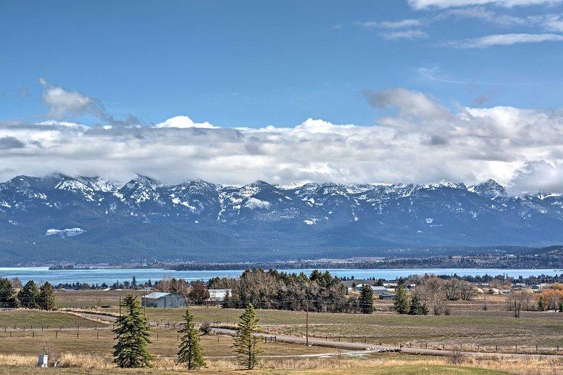 Le encantará la ubicación del Parque Nacional Glacier de esta casa increíble!