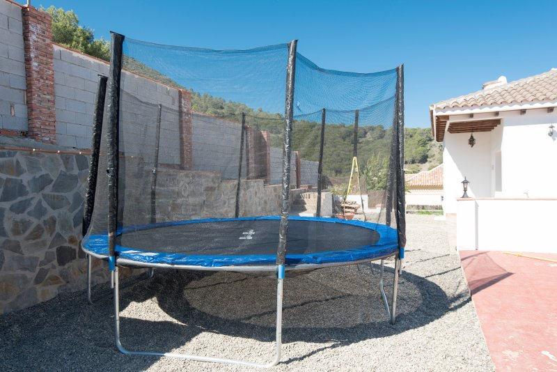 Trampoline which the children will love