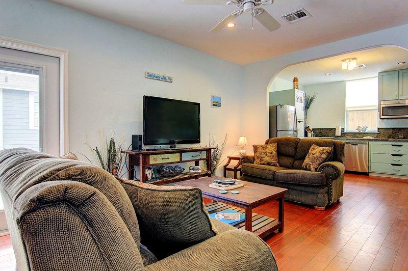 sala de estar da casa principal