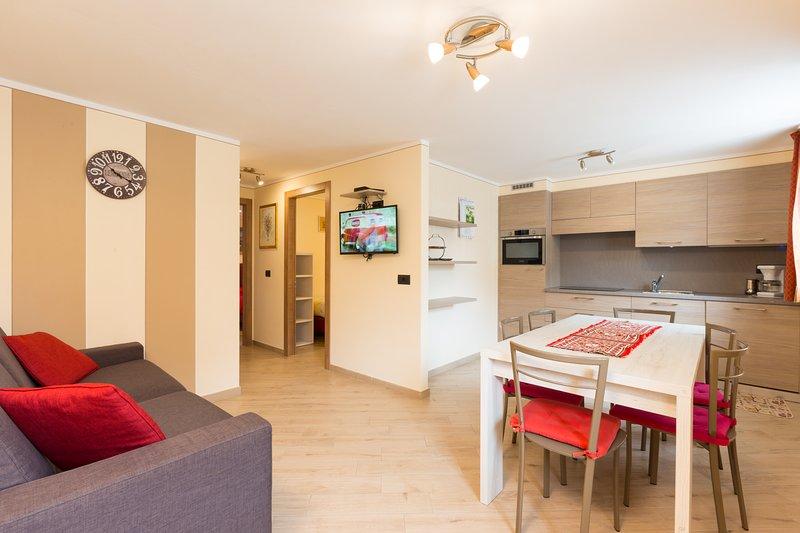 Baita Nicoletta - APPARTAMENTO 4, holiday rental in Trepalle