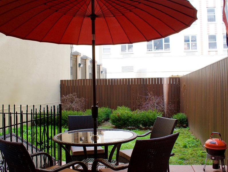 Backyard patio