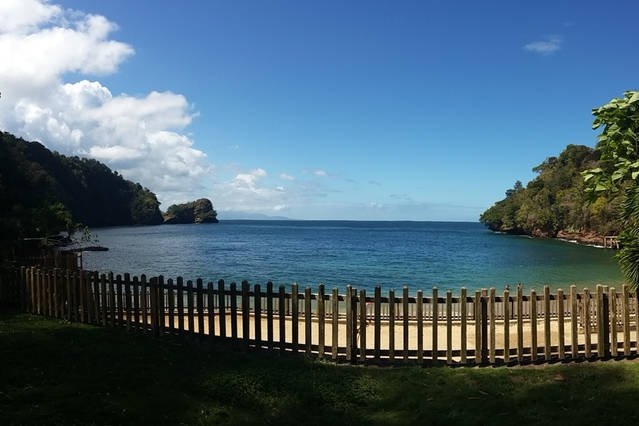 Macqueripe Bay, a 15-minute drive from the house. There's also a golf course nearby.