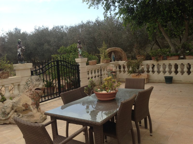 Nice house with garden & terrace, holiday rental in Dingli