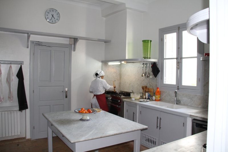 Kitchen managed by our staff ..