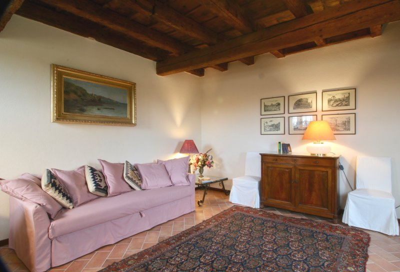 Spacious apt with garden & terrace, vacation rental in Lavagno