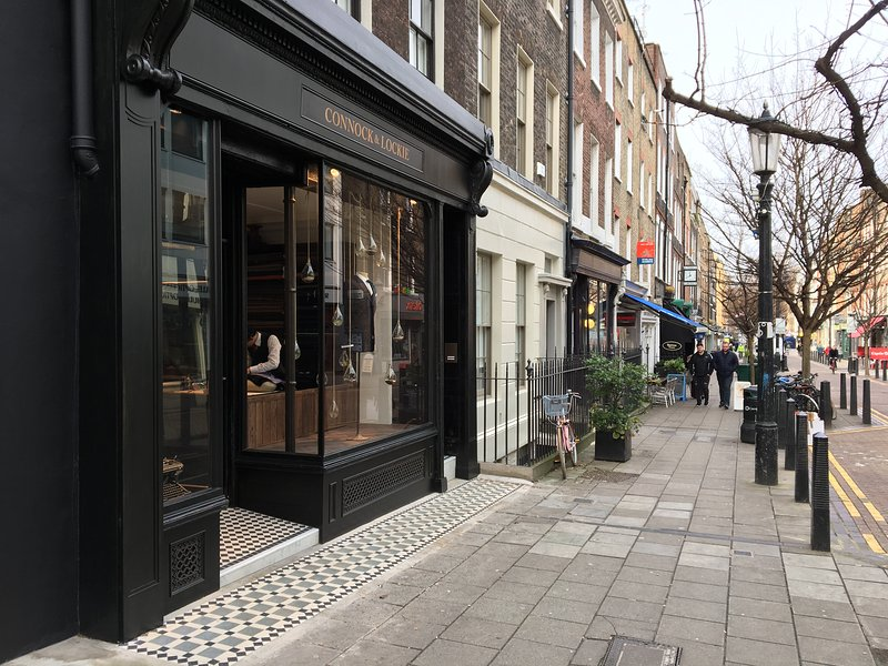 Lambs Conduit Street is 3 minutes away