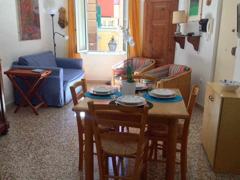 Camogli Centro Silenzioso Comodo al 1° Piano, holiday rental in Camogli