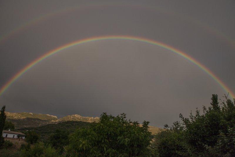 arco-íris excelente