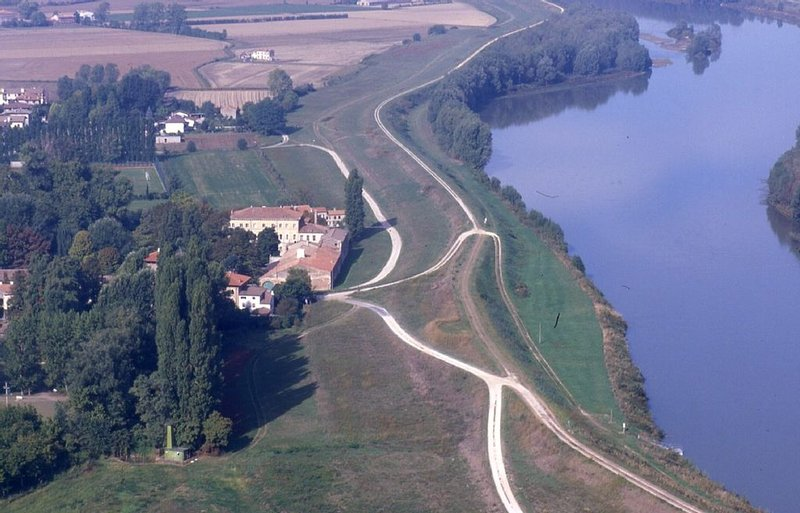 Villa Mila from the air