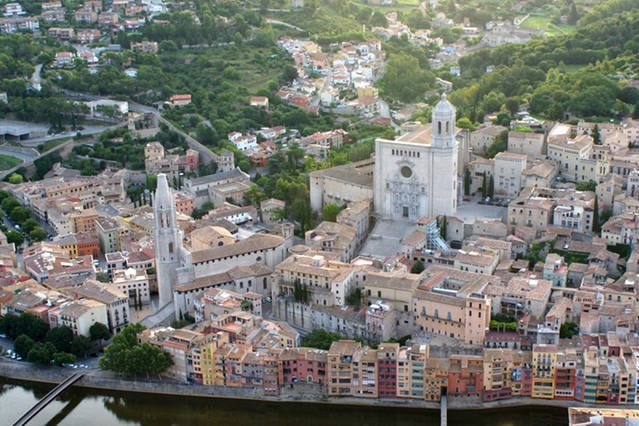 Girona from the air